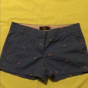 JCrew shorts size 6-EUC